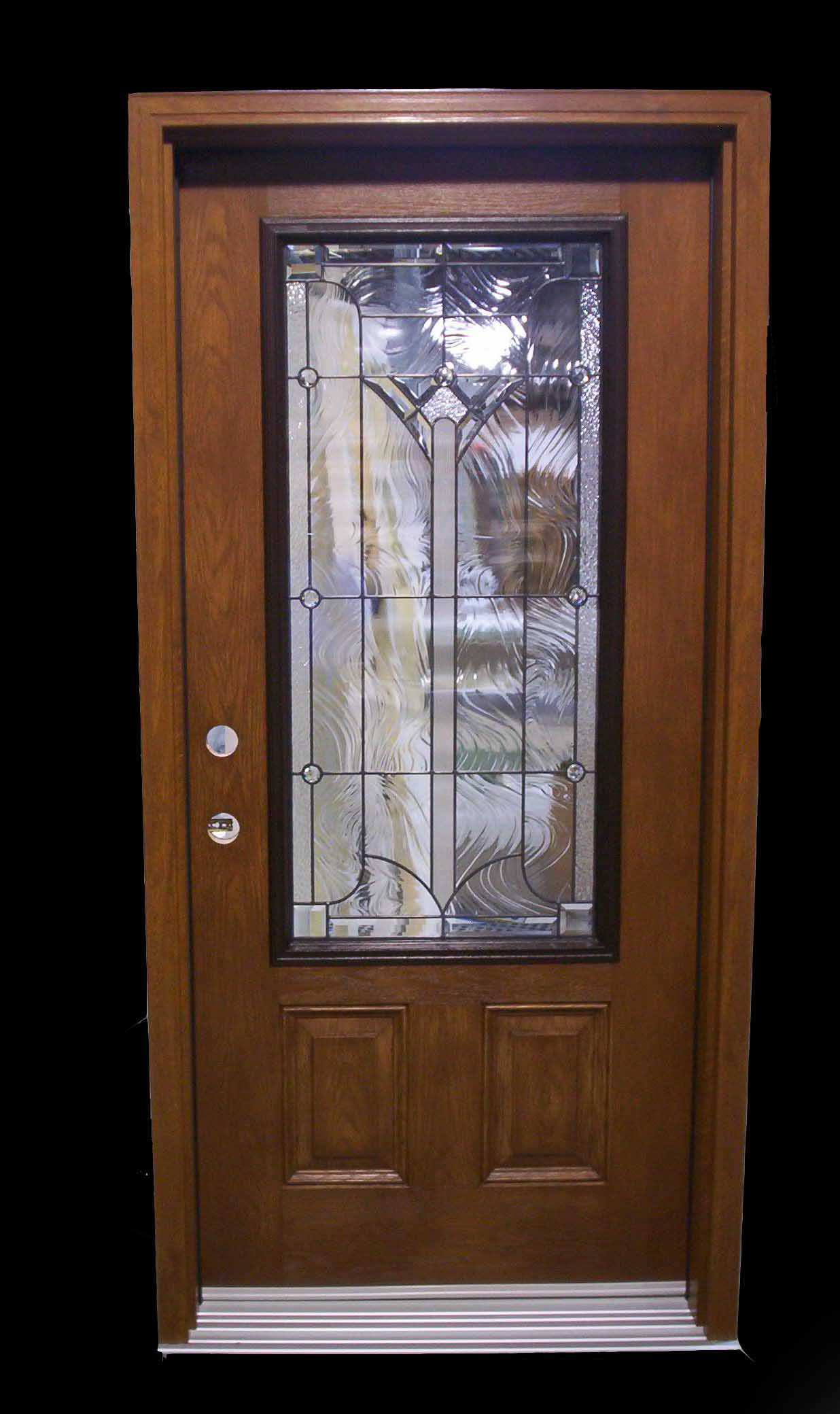 Residential wood front entry doors for Residential wood doors